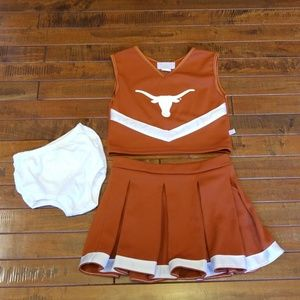 Texas Cheerleader Outfit, Girls 5
